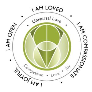 Universal Love Energy Center. Compassion, love, joy, full acceptance.